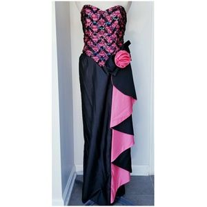 Vintage 1980's Alfred Angelo Prom Dress NWT
